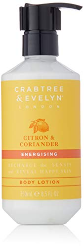(Crabtree & Evelyn Energising Body Lotion, Citron and Coriander, 8.5 Fl Oz)