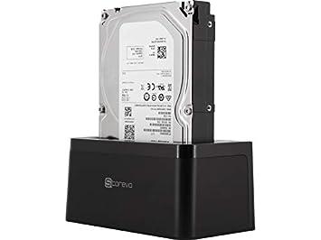 Storeva DriveDock Type-C UASP + Disco duro de 3,5 1 TB, 7200 RPM ...