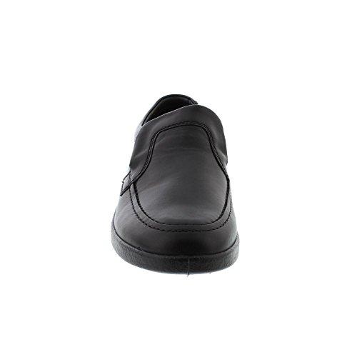 614 Leo Brown Dark Padders Black Shoes aFwxx7q