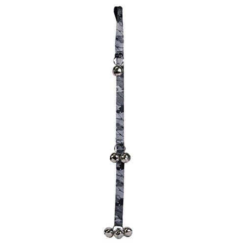 Timbre para Perro con diseño de Perro Amarillo, Serpiente y Cascabel, Sistema de Entrenamiento, 66 cm de Largo y 2,5 cm de...