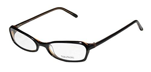 Vera Wang V104 For Ladies/Young Women/Girls Designer Full-Rim Unique Shape Fancy Eyeglasses/Eyewear (51-17-130, ()
