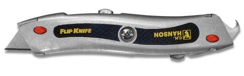 CH Hanson 03015 FlipKnife Dual Blade Utility Knife