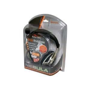 Media-Tech MT3548 - Auriculares con micrófono, negro y gris