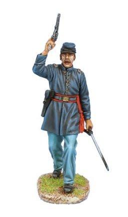 (First Legion ACW101 Union Lieutenant with Revolver)