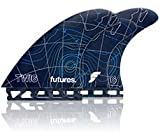 Futures Twiggy Fiberglass 5 Fin Set - Blue