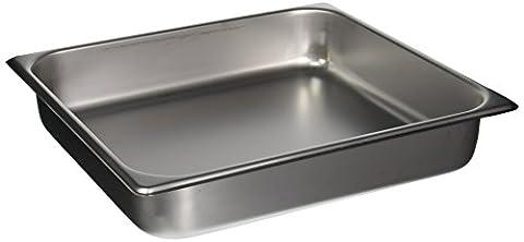 Winco SPTT2 2/3 Size Pan, 2 1/2-Inch - 2/3 Baking Pan