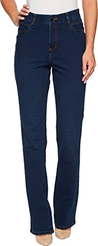- FDJ French Dressing Jeans Women's Comfy Denim Wonderwaist Peggy Bootcut in Indigo Indigo Jeans