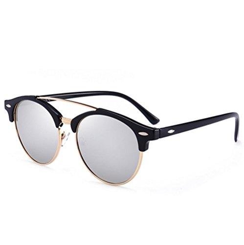 lunettes Cadre Verres rond colorés E polarized Mens de soleil B5vqxIWwP