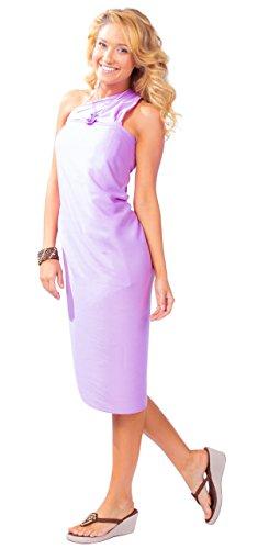 Pour Bain Sarongs Sarong maillot 1 De Unicolore Cache World Femmes Lavande IwxPqY