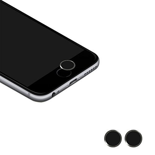 Cheap Phone Charms Touch ID Button,(2 pack) BUTEFO Home Button Sticker (Support Fingerprint Indentification System..