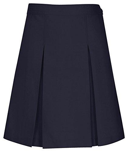 UPC 737314449804, CLASSROOM Juniors Kick Pleat Skirt, Dark Navy, 1/2