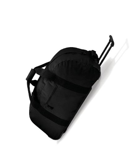 BagBase - Wheely Holdall - Black - One