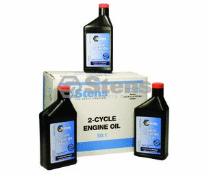 Stens 50:1 Two-Cycle Engine Oil Mix / 12.8 Oz./12 Per Case
