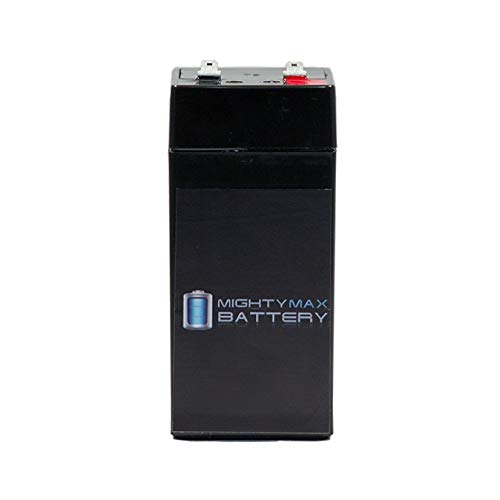 - Mighty Max Battery 4 Volt 4.5 Ah Sealed Lead Acid Battery for Fi-Shock SS-440 Brand Product