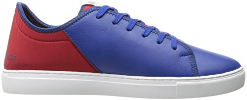 Fashion Armani Lycra White Deep A Exchange Men X Blue Pu Red Lace Sneaker Armani Exchange zwqR5w