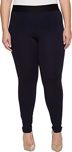 HUE Womens Waist Black Leggings product image