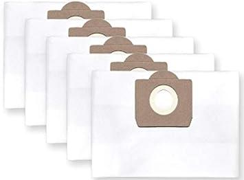 10x bolsas para aspirador tejido Bosch PAS 11-21; 12-27, Gas 20 L ...