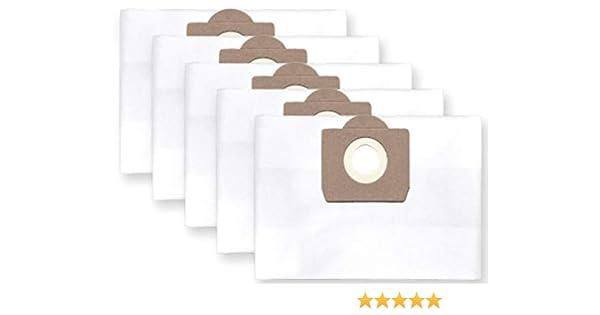 5x bolsas para aspirador tejido Bosch PAS 11-21; 12-27, Gas 20 L: Amazon.es: Bricolaje y herramientas