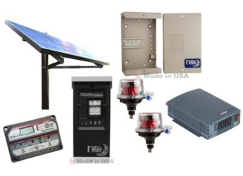 OFF GRID 150W CABIN SOLAR POWER SYSTEM   BASE KIT