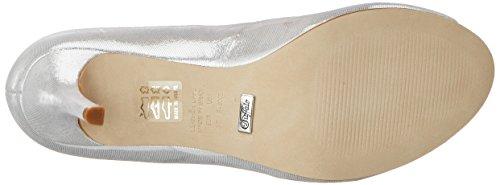 Buffalo Damen Zs 7155-16 Aqua Metalic Pumps Silber (argento)