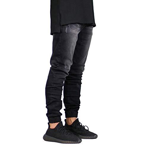 Fashion Stretch Men's Jeans Denim Jogger Design Hip Hop Joggers