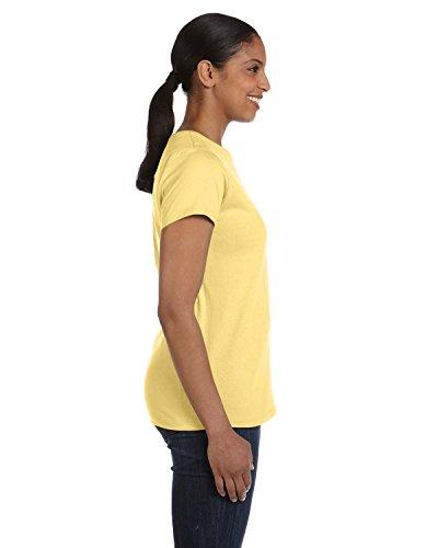 Yellow Shirt Donna Asimmetrico Hanes Daffodill T RBCXwxwq4