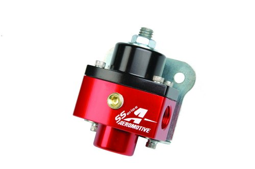 Aeromotive Billet - Aeromotive 13201 Regulator, Carbureted Adjustable, Billet 2-Port AN-6