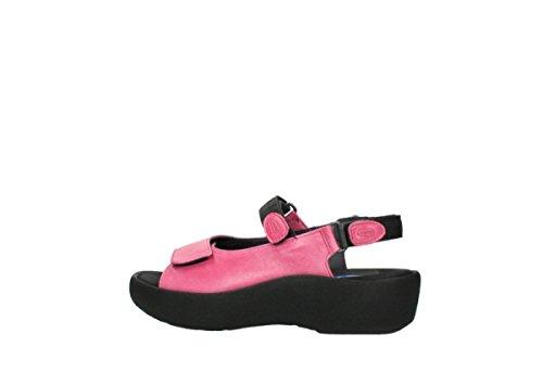 Wolky Comfort Sandalen Juweel 30660 Cyclame Leer