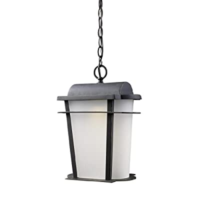 "Elk Lighting 43007/1 16"" Height Traditional / Classic Outdoor 1 Light LED Lanter,"