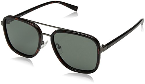 Nautica Men's N4626sp Polarized Aviator Sunglasses, Dark Tortoise, 57 - Nautica Sunglasses