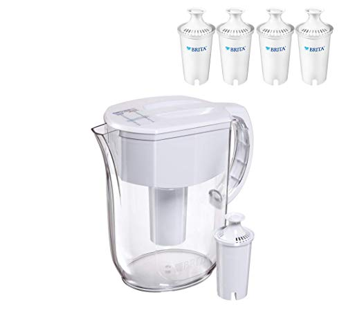 Large 10 Cup Everyday Water Pitcher - White