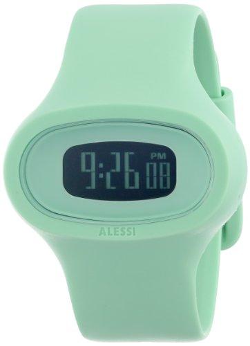 Alessi Men's AL25001 Jak Polyurethane Green Designed by Karim Rashid (Karim Rashid Watch)