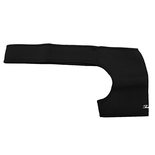 uxcell Neoprene Man Elastic Single Sided Protection Belt Shoulder Support Black by uxcell