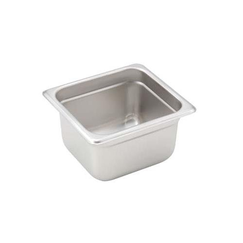 - Winco SPJH-604 Steam Table Pan, 1/6 Size, 4