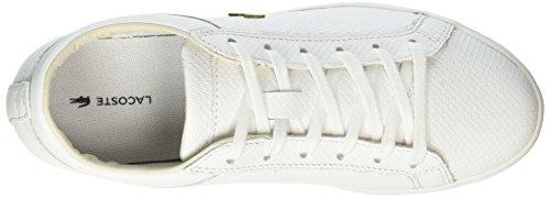 Basses Straightset Baskets Lacoste Femme Wht 316 3 001 Blanc AIwqP7Z4P