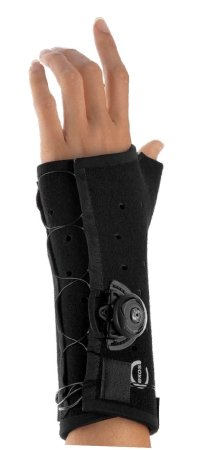 2363104 Brace Wrist Long Thumb Spica Right Small Exos Black w/ Boa sold indivdually sold as Individually Pt# 231-42-1111 by DJO, Inc