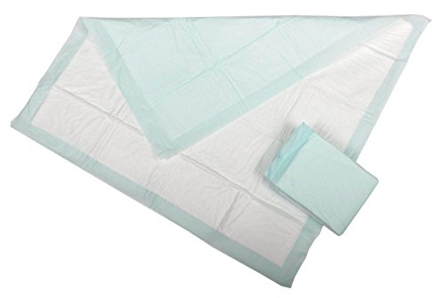 """UPC 080196700472, Medline Industries MSC282050PH Protection Plus Polymer Underpads, Heavy Absorbency, 23"""" x 36"""", Green (Pack of 10)"""