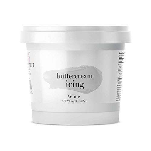 Cake Craft Whipped Buttercream Icing White 16 Ounces (The Best Whipped Frosting)