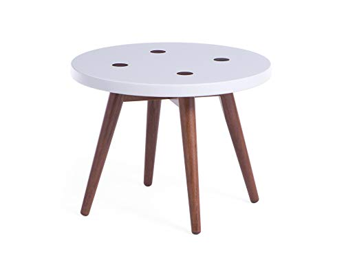 Memomad Mid Century Modern Round Nesting Table (Side Table 20