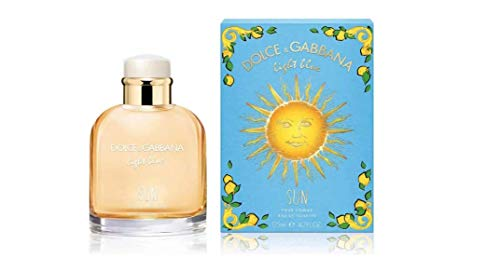 Light Blue Sun by Dolce & Gabbana Eau De Toilette Spray 4.2 oz / 125 ml Men