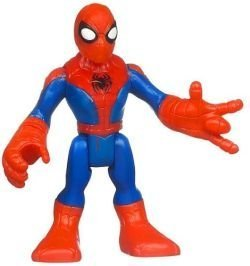 Marvel Playskool Super Hero Adventures Mini Figure Spider-Man [Bagged]