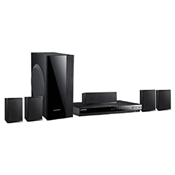 home theater 1000w. samsung ht-em53c 5.1 3d home theater blu-ray system w/ wi- 1000w