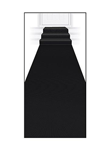 Beistle Carpet Runner 24in Black