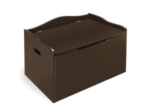 046605713501 - Badger Basket Bench Top Toy Box, Espresso carousel main 0