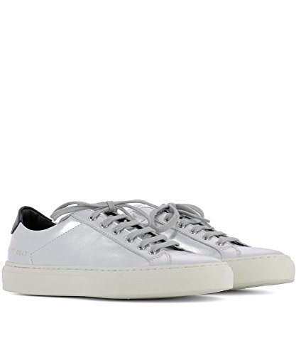 Femme Marke It Argenté COMMON PROJECTS pour Baskets Silber Größe tSxqfOg7w
