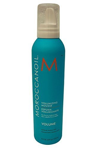 Moroccanoil Argan Oil Formula Full Body Medium Hold Volumizing Mousse for Fine to Medium Hair Types 250 Ml /8.5 Oz by (Performance Volumizing)