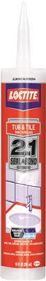 Polyseamseal Tub And Tile Adhesive Caulk by Loctite
