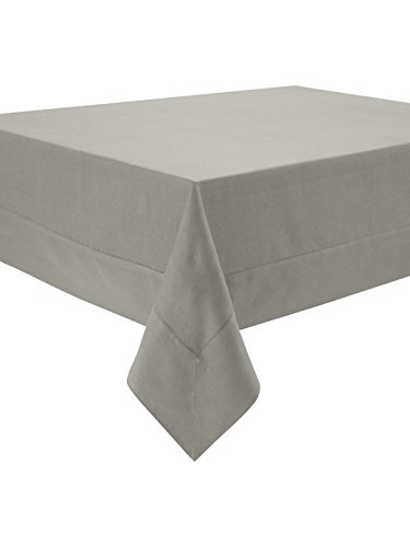 Waterford Table Linens Addison Platinum Tablecloth, 70 by...