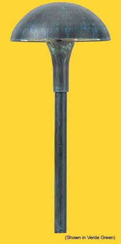 Corona CL-624-BK -Low Voltage/ 12V Area Light Aluminum Large Mushroom, Black