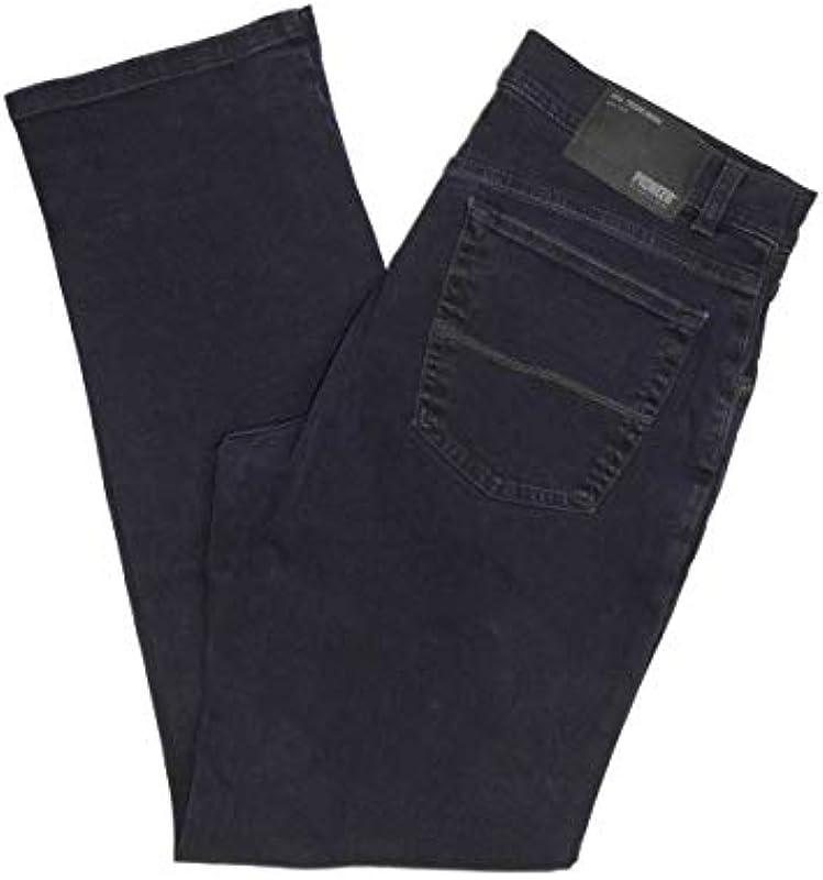 Pioneer Stretch Jeans 9821.02.1144 Ron Blue/Black Denim Basic LINE: Odzież